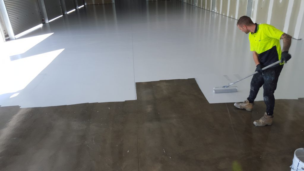 Painted Concrete Floors To Rejuvenate And Protect Your Concrete!