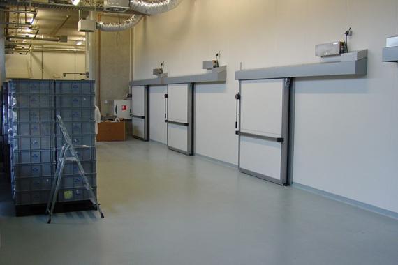 Industrial Room Enclosures : Cool room flooring perth industrial freezer floors
