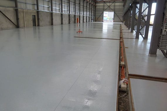 finished floor coating warehouse