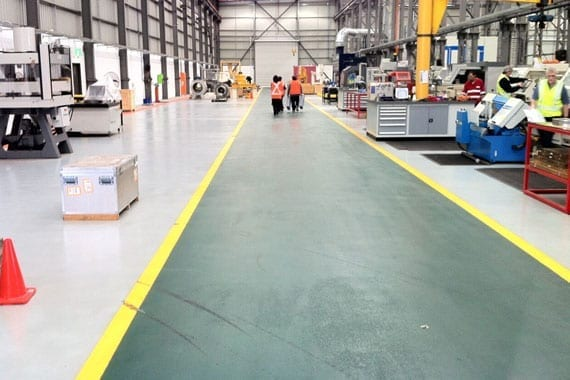 coloured safety flooring