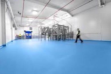 food grade floor coating in commercial kitchen