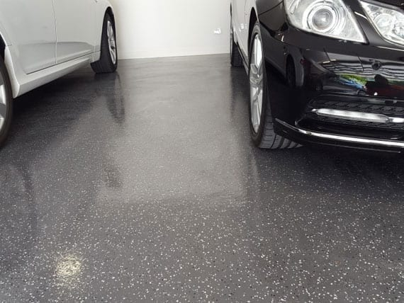 decorative flooring with cars on top