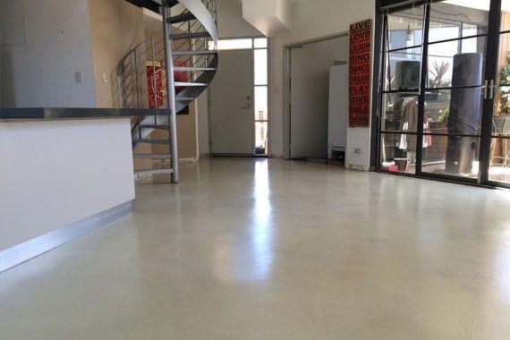 decorative flooring in office space